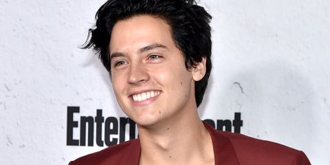 cole sprouse entertainment weekly