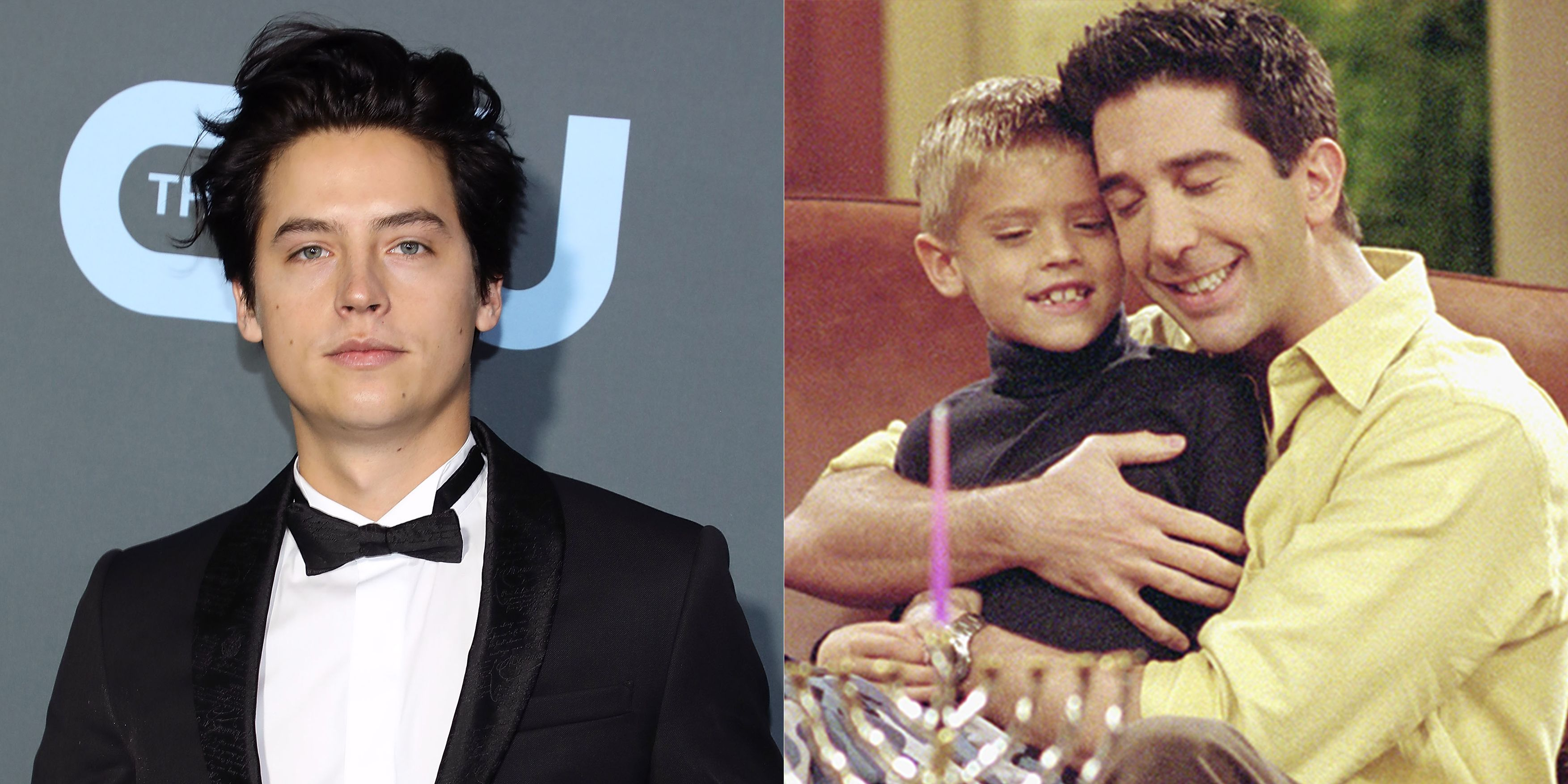 """Cole Sprouse Guesses What Happened to His Character Ben on """"Friends"""""""