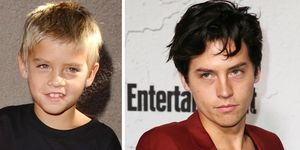Cole Sprouse Hair