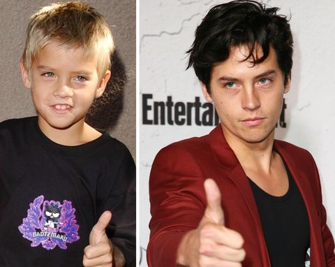 Cole Sprouse's Hair Transformations Belong in a Museum