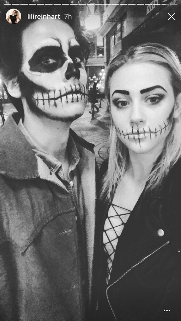 39+ Scary Cute Couple Halloween Costumes Background