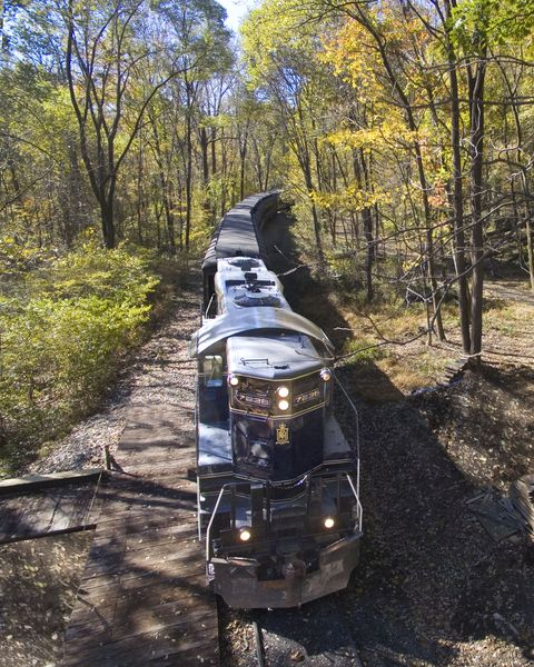 colebrookdale railroad fall foliage train