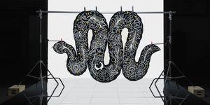 colección de alfombras arte de Ikea