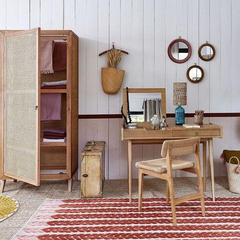 Dormitorio diseñado por Billie Blanket