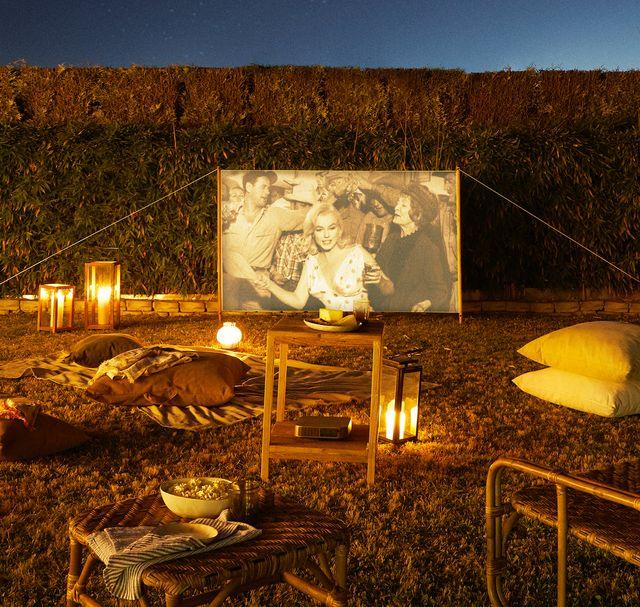 colección cinema de zara home para montar un cine de verano