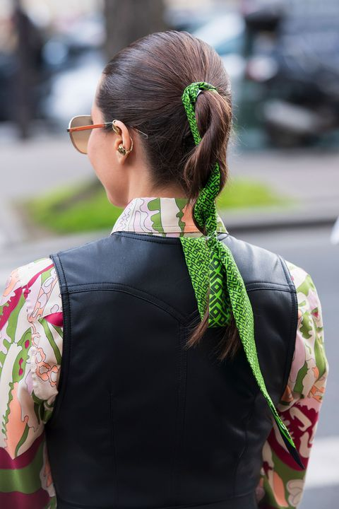 peinados con coleta