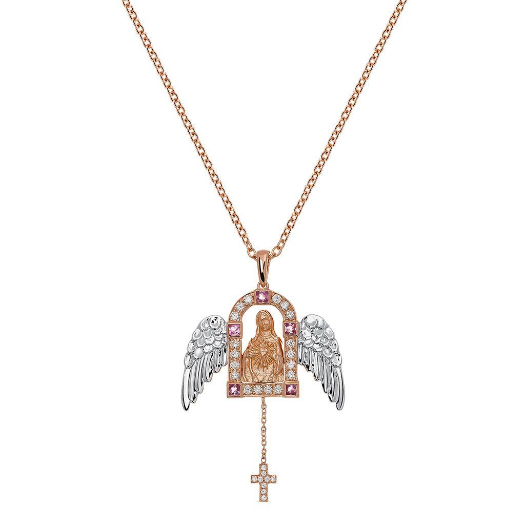 Colgante Virgen con alas de Suarez