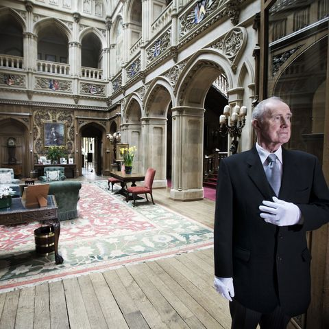 Daily Life At Highclere Castle Home To Television Program Downton Abbey
