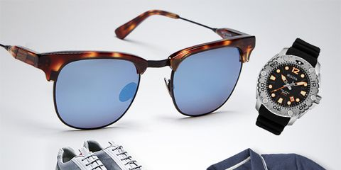Eyewear, Vision care, Blue, Product, Brown, Sunglasses, White, Goggles, Style, Font,