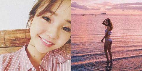 Facial expression, Beauty, Skin, Summer, Smile, Sea, Fun, Lip, Photography, Happy,
