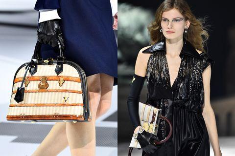 Handbag, Bag, Fashion model, Shoulder, Fashion, Fashion accessory, Joint, Material property, Satchel, Fashion design,