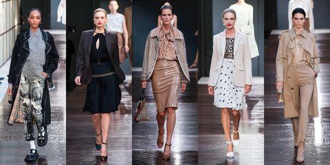 Fashion model, Fashion, Clothing, Runway, Fashion show, Fashion design, Outerwear, Dress, Footwear, Street fashion,