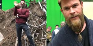 《復仇者聯盟4》拍攝現場的「非法影片」曝光復仇者們私底下的模樣,美國隊長「超偏心」緋紅女巫、蜘蛛人和鋼鐵人根本真父子!
