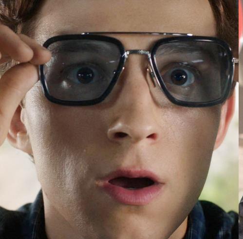 眼尖的影迷立刻就發現是鋼鐵人在《復仇者聯盟3》戴著的那一副眼鏡!