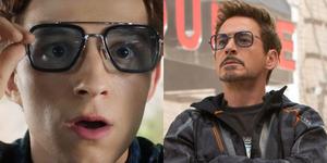 《蜘蛛人》最新預告釋出,竟發現「鋼鐵人的眼鏡」!這個小細節只有鐵粉才懂