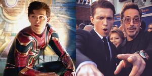 「鋼鐵人在背後守護小蜘蛛」超虐心!《蜘蛛人:離家日》最新海報又逼哭影迷