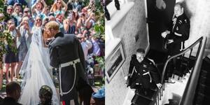 梅根王妃、哈利王子IG放閃慶祝結婚週年!首度曝光「英國皇室婚禮私密照」原來哈利威廉兩兄弟超調皮