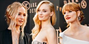 【明星穿搭】《X戰警:黑鳳凰》首映會上的「三大女神」紅毯Look比拼!你喜歡蘇菲特納的性感LV裙、珍妮佛勞倫斯的Dior長裙還是⋯⋯