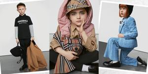 Burberry童裝系列太高級、太時髦!駝色風衣、格紋連身裙⋯⋯ 美到媽咪們也想買給自己!
