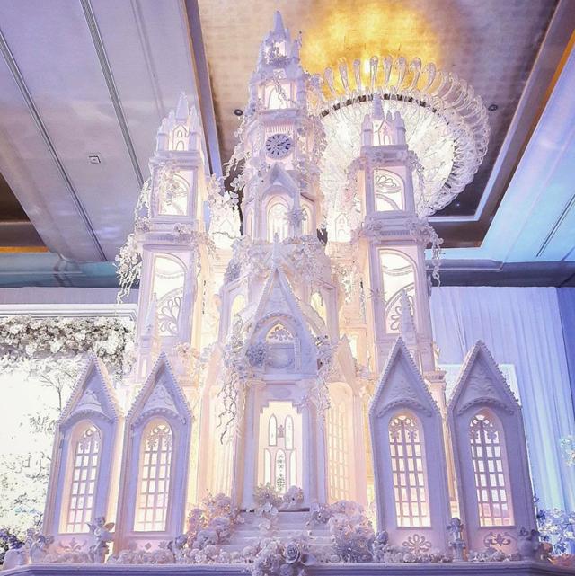 這麼巨大的婚禮蛋糕你看過嗎?峇里島辦婚禮一定要知道的 LeNovelle 糕點師