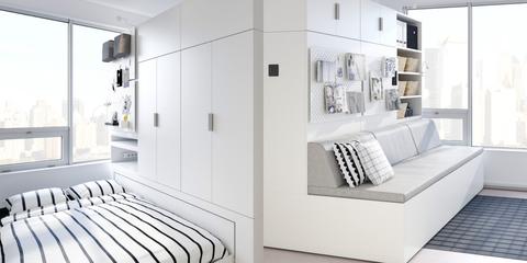 IKEA推出超唯美「蝸居」設計給房間小小的你!一張床、書桌、沙發融為一體,還是電動的好方便