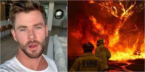 「雷神」克里斯漢斯沃霸氣捐3000萬賑災澳洲大火!網友湧入IG 直呼真英雄