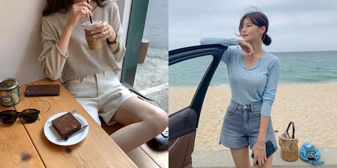 不同身材怎麼挑選夏季牛仔短褲