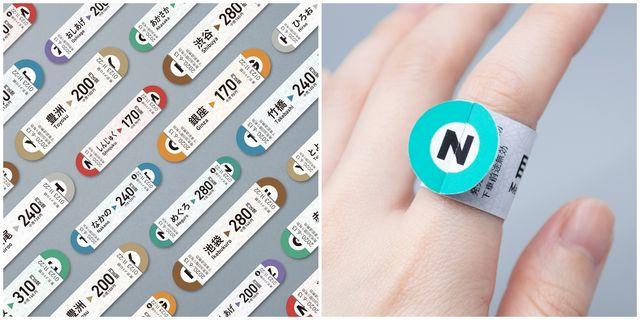 日本東京metro「戒指車票」設計概念掀起全網熱議