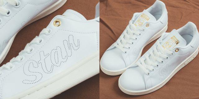 adidas originals stansmith 球鞋又出新款!「不對稱字母+燙金設計」美出新高度