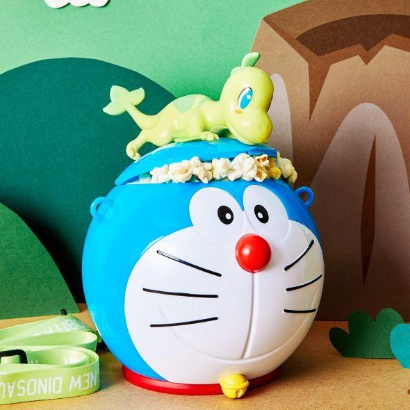 哆啦a夢穿探險裝太可愛了!威秀影城推「哆啦a夢50周年電影」限定版造型杯、爆米花桶