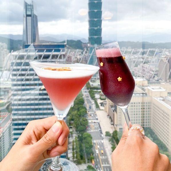 w hotel下午茶 台北下午茶 紫艷bar
