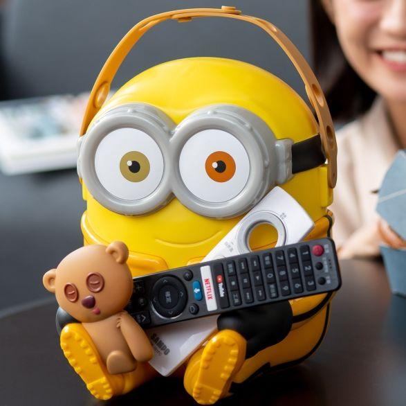 麥當勞全新「小小兵置物籃」搶先全球開賣!超萌bob變收納箱,還能放辦公室小物