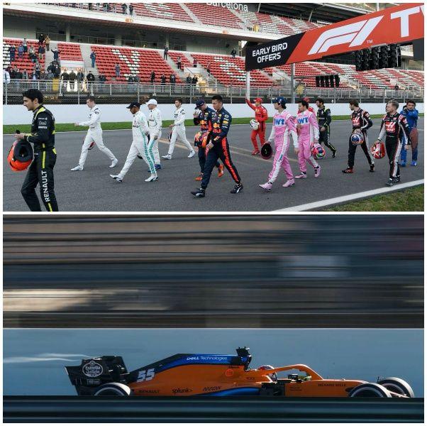 F1 test pretemporada 2020