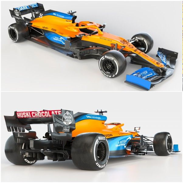 McLaren MCL-35 F1 2020