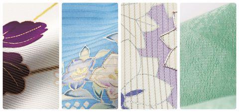 美しいキモノ 夏着物 絽 三本絽 七本絽 竪絽 紗 紋紗