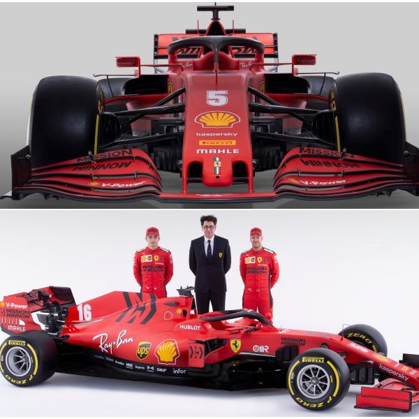 F1 FerrariSF1000