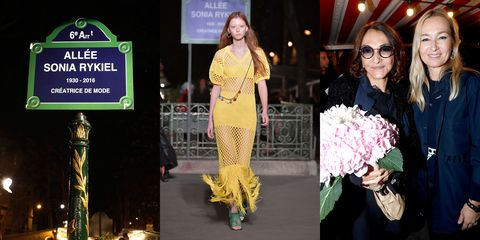 Yellow, Fashion, Beauty, Fashion model, Fashion design, Event, Footwear, Dress, Haute couture, Fashion show,