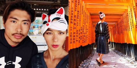 Fashion, Headgear, Temple, Photography, Smile,