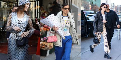 Street fashion, Clothing, Jeans, Fashion, Fur, Snapshot, Street, Outerwear, Companion dog, Denim,