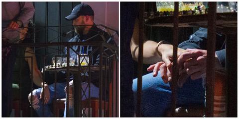 大賈斯汀在酒吧與女演員阿麗莎溫萊特曖昧