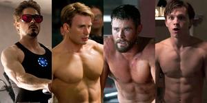 《復仇者聯盟》猛男合輯!所有英雄的肌肉特寫都幫你們整理好了,請享用!