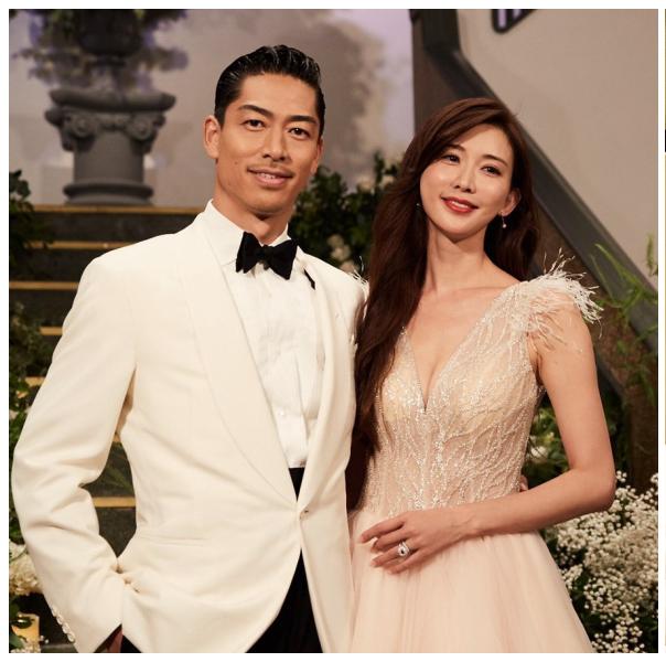 AKIRA、林志玲、婚禮