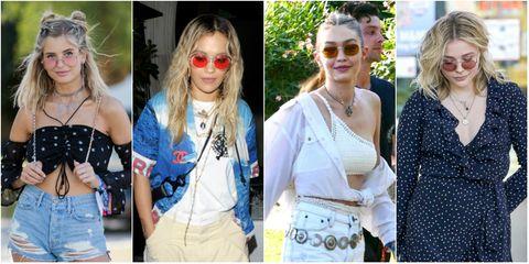 Eyewear, Sunglasses, Street fashion, Glasses, Fashion, Blond, Jeans, Lip, Shoulder, Denim,