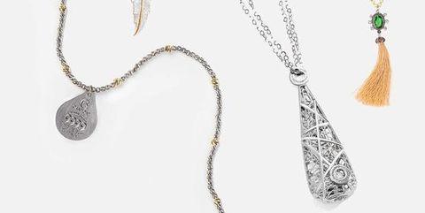 comprare popolare fc770 4c49d Collane lunghe con ciondoli e pendenti in argento e oro