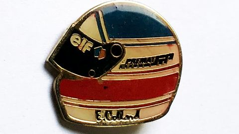 collard, f1, collectable pin