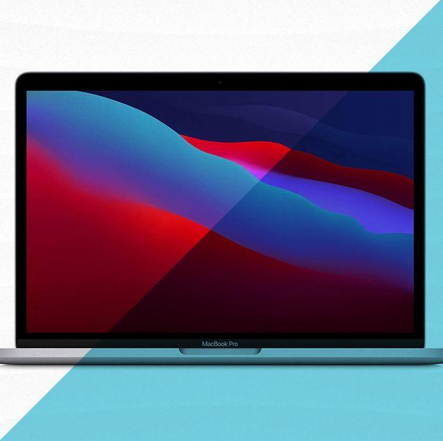 apple macbook with lid open