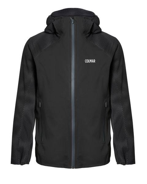 chaqueta negra running