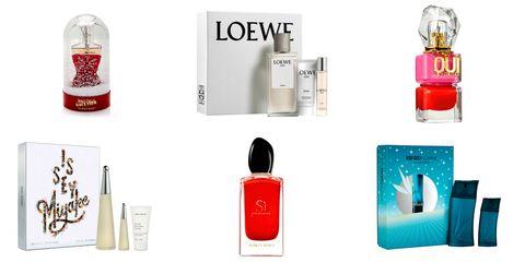 Colonias y perfumes para regalar