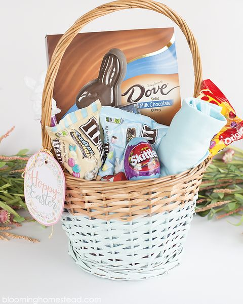 color blocked easter basket