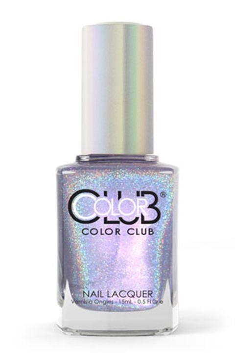 Nail polish, Product, Cosmetics, Nail care, Violet, Aqua, Lilac, Purple, Turquoise, Material property,